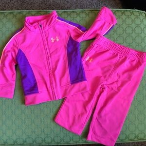 Under Armour track suit 3-6 mos